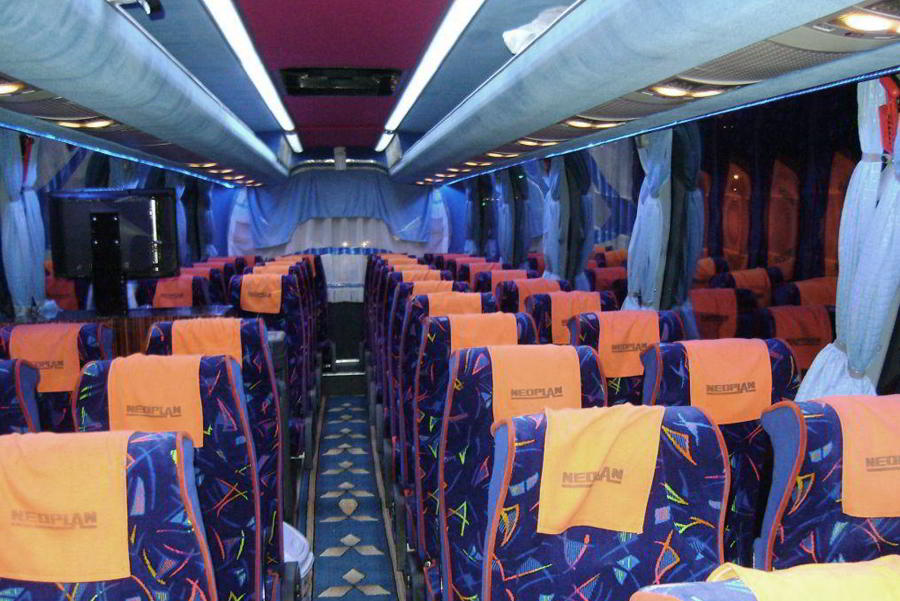 Автобусы Neoplan в Ереване