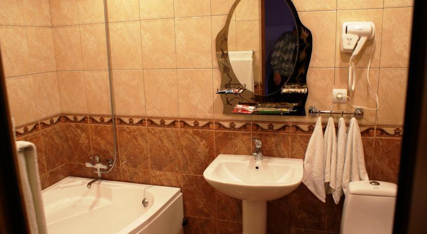 Отель Одзун ванная